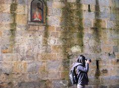 Cuesta de Santo Domingo, encierro #Pamplona