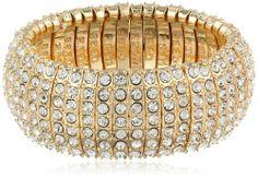 "Isaac Mizrahi ""Bling Bling"" Wrap Bling Gold Stretch Bracelet, 4"" Isaac Mizrahi,http://www.amazon.com/dp/B00F9X4KJU/ref=cm_sw_r_pi_dp_oh-otb0AJNHH8ZQE"