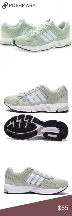 ebbcbcb469 Adidas Equipment 10 running shoes in green - NIB! Adidas Equipment 10 running  shoe in beautiful pale green. Super rare, hard to find color.
