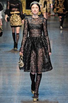 Dolce & Gabbana Fall 2012 | Milan Fashion Week