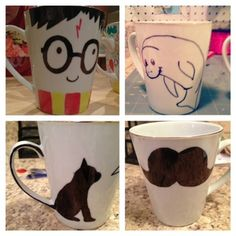 Sharpie Mug! Doing the Harry Potter one!