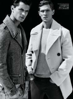 Garrett Neff & Mathias Lauridsen Ph Robert Nethery for Details Magazine August 2014