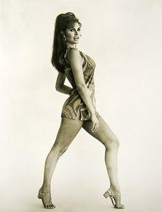 ¿Recuerdan las piernas de Raquel Welch? ¡Yo también!