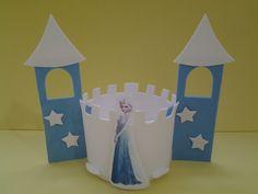 Centro de mesa Castelo Frozen