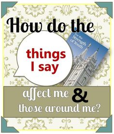How Do the Things I Say Affect Those Around Me? - The Redheaded Hostess