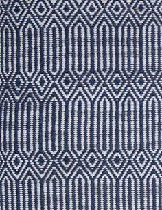 Stair Runner: Hancock Rug - Denim White - Hook and Loom - Attractive, affordable rugs, hand-woven in a range of eco-friendly colors.