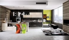 modern kitchen with contemporary style