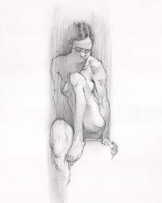 Unhampered in its flow . Model: @figurativelyseeking . #art #figuredrawing #lifedrawing #drawing #gesture #gesturedrawing #sketch #sketching #sketchbook #practice #bruteforcemethod #losfelizlifedrawing . #experteezzz #choonhachat