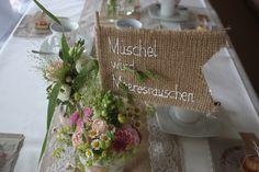 Tischnamen, Hochzeitsmotto aus M wird M, Pastell und Vintage im Riessersee Hotel…