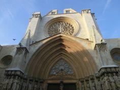 Catedral de Santa María de Tarragona, estilo gótico temprano existente en la ciudad y provincia de Tarragona, en la comunidad autónoma de Cataluña, España.