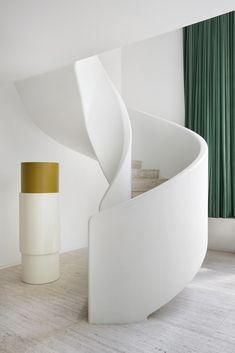 Reform Kitchen / living inspiration / home / Home decor / Interior design / Stairway. Villa Kaplansky. Antwerp