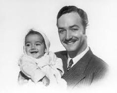 Jorge Negrete y su hija Diana Negrete Christy