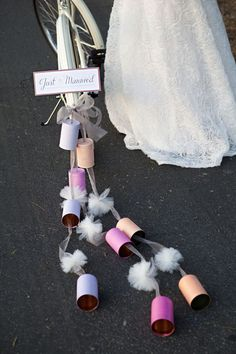 15 Awesome Ideas For A Unique Spring Wedding - Wedding Party Behind our dirt bike or street bike. *Jen*
