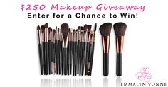 I'm in the running to #win a FREE Makeup Brush Set in the $250 #Makeup #Giveaway thanks to @emmalynvonne!!! #beauty #style #fashion #makeupgiveaway #skincare 💄💋 Enter Here 👉👉