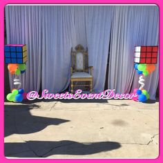 80's Theme Quince  | CatchMyParty.com