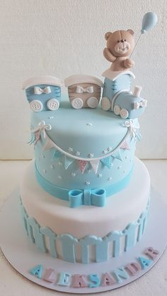 264 Best boys' christening cakes images in 2019 | Cupcake