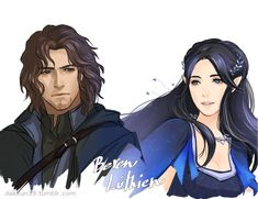 This is the closest picture I've ever found to what I saw as Beren and Luthien.