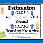 This poster about estimation will help your students in remembering the rules of estimation.  Children who sometimes need a little extra trick to r...