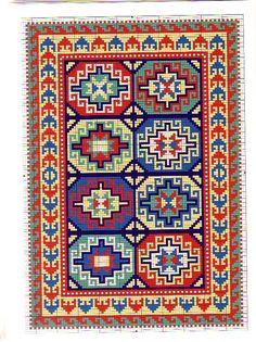 Bead Crochet Rope, Needlework, Bohemian Rug, Weaving, Cross Stitch, Rug Patterns, Kilims, Embroidery, Beads