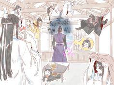Grandmaster Of Demonic Cultivation Memes Anime Manga, Anime Guys, Anime Art, Dragon Rey, Chinese Cartoon, Handsome Anime, The Grandmaster, Shounen Ai, Light Novel