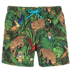 Dolce & Gabbana Boys 'Savana' Swim Shorts