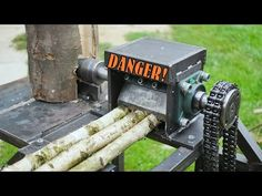 Welding Art Projects, Woodworking Projects Diy, Diy Wood Projects, Electric Rollers, Log Splitter, Wood Chipper, Farm Tools, Wood Shed, Metal Working Tools