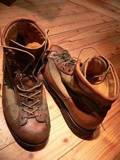 Boots: Danner Light, well loved.