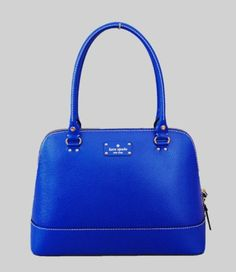 Kate Spade New York Wellesley Rachelle Shoulder Handbag Royal Blue Leather   Pretty obsessed with this in the royal blue.  s/b around $350.  [eeks!]