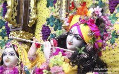 To view Gopinath Close Up Wallpaper of ISKCON Chowpatty in difference sizes visit - http://harekrishnawallpapers.com/sri-gopinath-close-up-wallpaper-004/