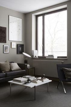 An apartment in teak and grey, Eastmansvägen 8B