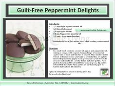 Young Living Essential Oils: Peppermint Delights Recipe Let me help you get started with Essential Oils! oilyhippie@cox.net Laura Knowlton Sponsor #1598836
