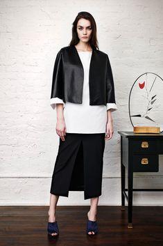 Adam Lippes Pre-Fall 2014 Fashion Show - Patrycja Gardygajlo