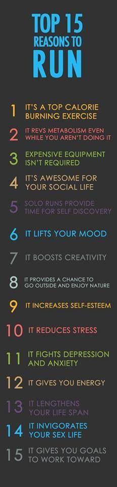 15 razones para correr