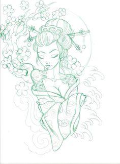 Geisha design