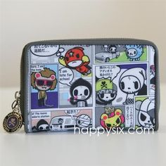Tokidoki Continental Small Flap Wallet -  $52.00