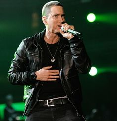 Before playing Tennent's Vital festival in Ireland, Eminem had one of the fishiest requests we've ever heard. The rapper demanded that a wooden pond filled with koi carp be built in his private backstage garden at the venue, according to The Sun. Koi aren't cheap fish, either -- they run between $325 and $650 per fish!