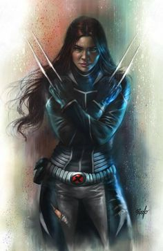 AWESOME NEW ART!...Generations: All-New Wolverine #1 New series from Marvel . Lucio Parrillo (artist)