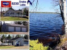 Vacation 2nd Home In Maine. Drake Lake, Not Far From East Grand, In Washington County Maine. VIDEO http://www.ownmainerealestate.com/browse-listings/property/450/236-channel-road-forest-maine-04413