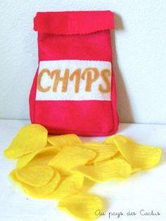 Chips van vilt