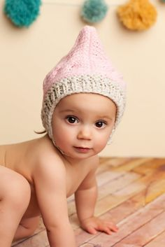 """Image of """"Claire"""" Pixie Hat"""