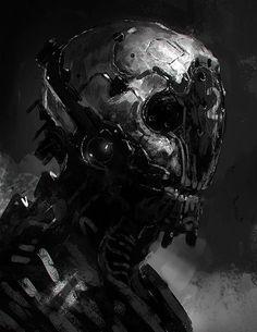 Robots and stuff (but mostly robots), kokutouroll: Cyborg by jameschg - James Cheong -...: