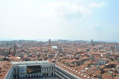 View the city from up high - Venice, Italy