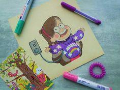 Fall Drawings, Pencil Art Drawings, Cute Drawings, Art Sketches, Gravity Falls Personajes, Dibujos Zentangle Art, Desenhos Gravity Falls, Gravity Falls Art, Art Folder