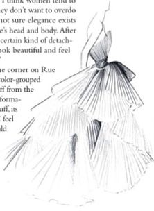 Gorgeous Dior sketch from 1947