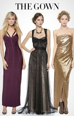 Gowns for New Year's Eve