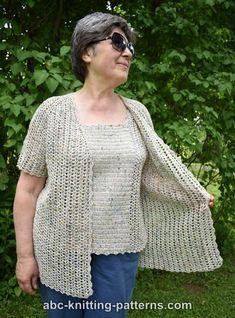 ABC Knitting Patterns - La Loire Summer Top