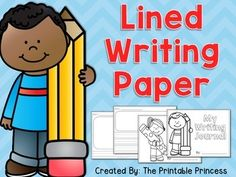 FREEBIE! Lined writing paper (several different versions) and two journal covers.
