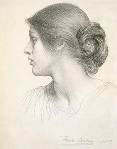 too much art - artemisdreaming: Frank Bernard Dicksee, Beatrice...