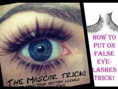 THIS IS THE EASIEST WAY TO PUT ON FALSE EYE LASHES TRICK ! http://www.holliespampurlounge.com  http://www.twitter.com/hollie_wakeham  http://www.facebook.com/pampurlounge  http://www.youtube.com/user/pampurlounge.com   http://www.facebook.com/holliewakehampampurlounge    I HOPE MT STEP BY STEP GUIDE HELPS WITH ALL YOUR EYELASH STICKING PROBLEMS HINNIS...
