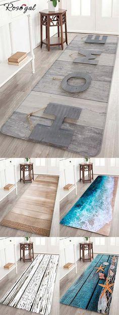 Carpet pattern wood and sea decoration spring pattern for home … - New Deko Sites Grey Hallway, Tapis Design, Wall Carpet, Red Carpet, Stair Steps, Diy Wood Signs, Loft, Patterned Carpet, Living Room Carpet